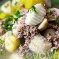 Bếp Eva - Canh khoai thịt bằm hấp dẫn
