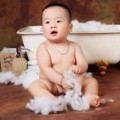 Ngắm ảnh bé - Siêu mẫu nhí: Hotboy Quang Minh cực bảnh