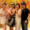 Làng sao - Tiết lộ thêm hình ảnh vợ và con gái Dustin Nguyễn