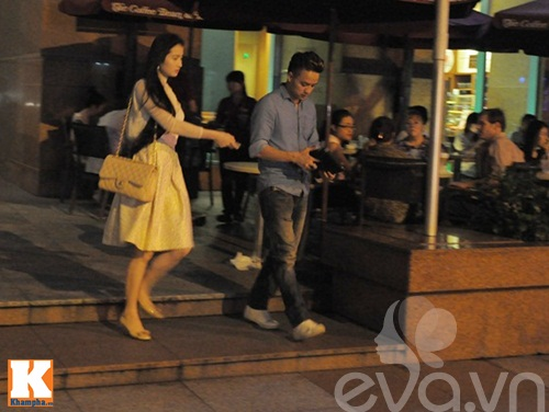 cao thai son cang thang uong cafe sau scandal - 6