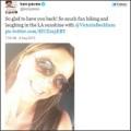"Làng sao - Victoria Beckham khoe nụ cười ""hiếm hoi"""