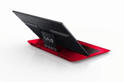 phien ban laptop vaio mau do long lanh - 1