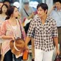 Làng sao - Bắt gặp vợ chồng Lee Byung Hun đi trăng mật