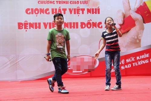 my chi, chi long hat tai bv nhi dong - 4
