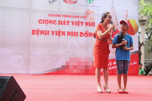 my chi, chi long hat tai bv nhi dong - 6