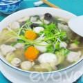 Bếp Eva - Đơn giản với canh trứng cút bóng bì