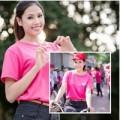 Làng sao - Á hậu Nguyễn Thị Loan đạp xe cùng giới trẻ