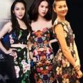 Thời trang - Sao Việt quyến rũ cùng hoa nền tối