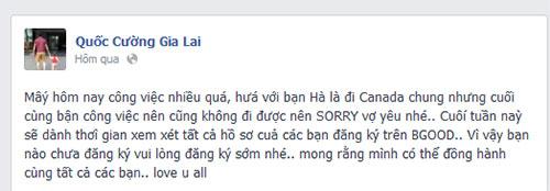 """cuong do la va vo thi nhau noi loi """"co canh"""" - 2"""