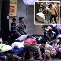 Tin tức - Sài Gòn náo loạn vì giật đồ cúng cô hồn