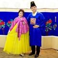 Làng sao - Vũ Hoàng Việt và bồ già xúng xính áo hanbok