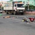 Tin tức - Bị xe ben kéo 20m, một phụ nữ tử vong