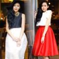 Thời trang - Eva đẹp: Ngọt ngào như nàng mê váy xòe