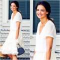 Thời trang - Street style: Katie Holmes trẻ măng sau ly hôn