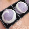 Bếp Eva - Bánh bao khoai lang tím nhân đậu xanh