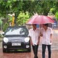 Tin tức - Học sinh miền Bắc đón khai giảng trong mưa