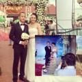 Làng sao - Lộ ảnh đám cưới Ngọc Thạch và đại gia HN