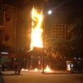 Tin tức - Cháy lớn ở Nhà hát Múa rối Thăng Long