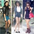 Thời trang - Sao đẹp: Chân dài nô nức khoe xì-tai gợi cảm