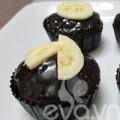 Bếp Eva - Bánh cupcake sô cô la chuối