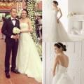 Thời trang - Ngọc Thạch tiết lộ váy cưới là váy 'nhái'