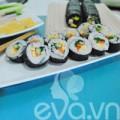 Bếp Eva - Trổ tài làm cơm cuộn Hàn Quốc