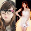 """Thời trang - Bạn gái Bùi Anh Tuấn """"nghiện"""" style công chúa"""