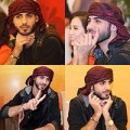 Làng sao - Thẫn thờ ngắm trai đẹp Ả Rập... nữ tính