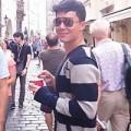 Làng sao - Nathan Lee thảnh thơi đi dạo ở Prague