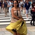 Làng sao - Đoan Trang tung tăng trên đường phố Nhật Bản