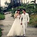 Ảnh cưới thiên thần của Minh Hằng - Lương Mạnh Hải
