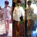 Thời trang - Tóc Tiên liên tục gây xôn xao với mốt không quần