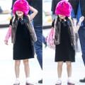 Làng sao - Nhóc Suri diễn trò trên đường đi học