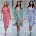 Thời trang - Mê đắm ren hoa của Burberry xuân hè 2013