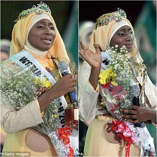 nguoi dep nigeria dang quang hoa hau hoi giao 2013 - 2