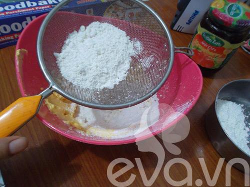 Mát trời làm bánh quy nhân mứt ăn chơi-4