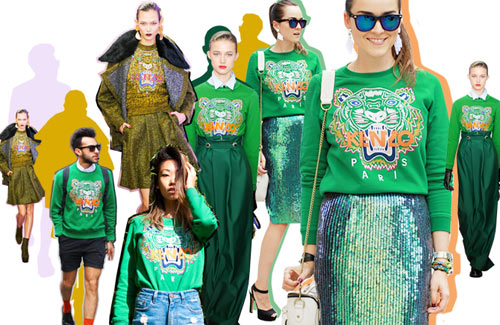 Họa tiết con mắt của Kenzo 'gây sốt' - 1