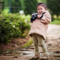Ngắm ảnh bé - Siêu mẫu nhí: Nàng nhiếp ảnh gia Mỏ Chu