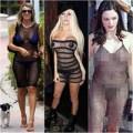 Thời trang - 'Nhức mắt' với váy lưới 'mặc cũng như không'