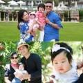 """Làng sao - """"Bản sao Jang Dong Gun"""" khoe gia đình hạnh phúc"""