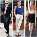 """Thời trang - Thời trang giản dị của các """"nàng thơ"""" Hollywood"""