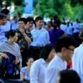 Tin tức - Sĩ tử thi đại học trong nắng nóng 38 độ C