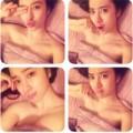 Làng sao - Angela Phương Trinh khoe ảnh xì tin khi đi ngủ