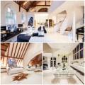 Nhà đẹp - Dinh thự siêu đắt tiền sửa từ nhà thờ