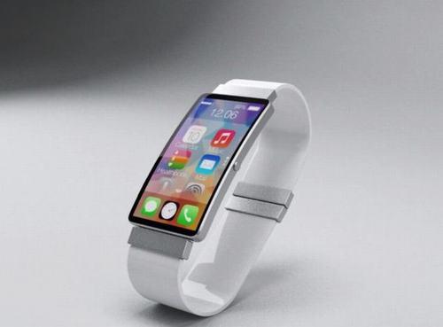 apple iwatch chay ios 8, man hinh cong - 2