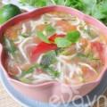 Bếp Eva - Canh riêu cá ngần chua chua ngon cơm