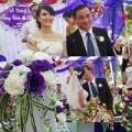 Làng sao - Em gái Công Vinh hôn chồng trong ngày cưới