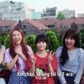 Clip T-ara nói tiếng Việt khiến fan sung sướng