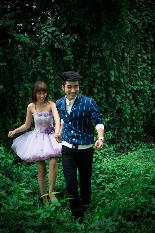 khanh ngoc, huynh nu chup anh cuoi tap the - 10