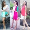 Thời trang - Thời trang đường phố màu sắc của sao Việt tuần qua